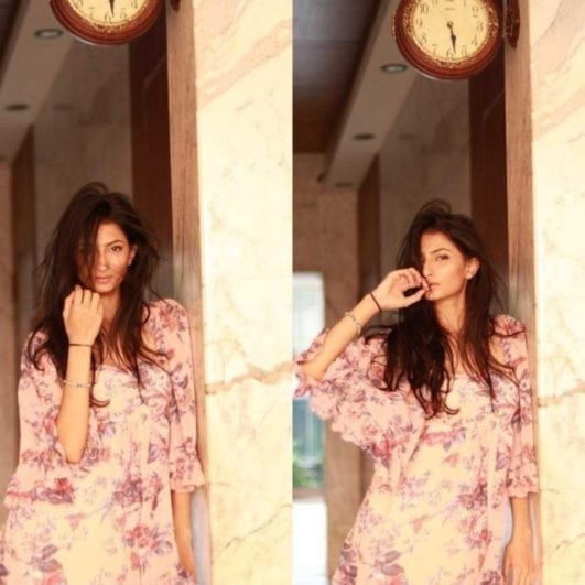 shweta tiwari daughter instagram pic