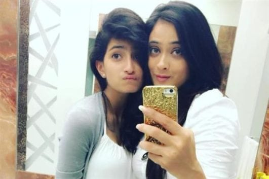 shweta tiwari with her daughter hot pic