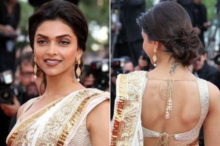 Deepika Padukone lovely tattoo
