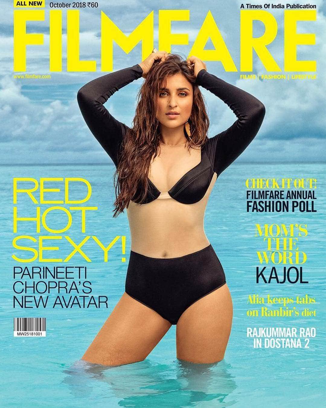 Parineeti Chopra hot and sexy filmfair photoshoot still