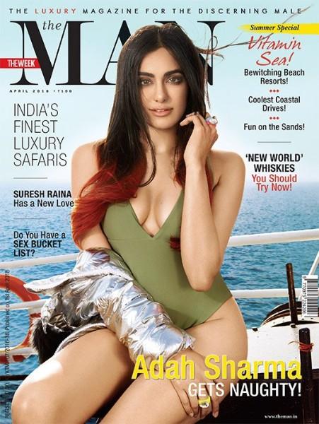 adah sharma boobs show cover pic