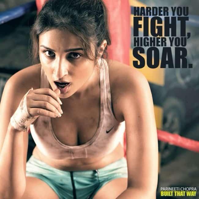 sexy boobs show by actress parineeti chopra