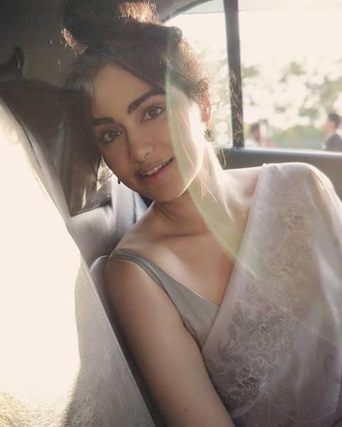 sexy selfie of south actress adah sharma