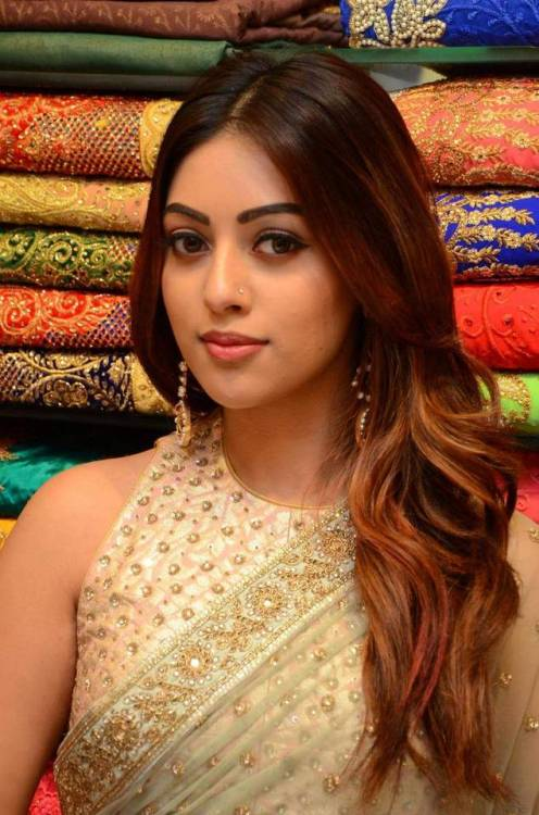 anu emmanuel hot in saree