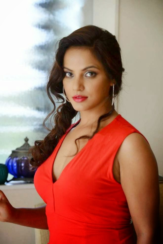 Neetu Chandra Hot Spicy Navel Cleavage Boobs Images