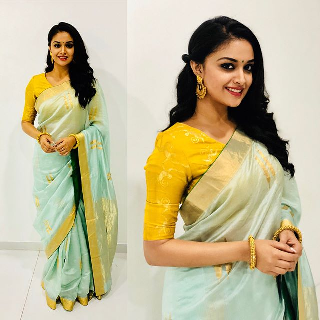 south actress keerthi suresh hd image sexy instagram photos