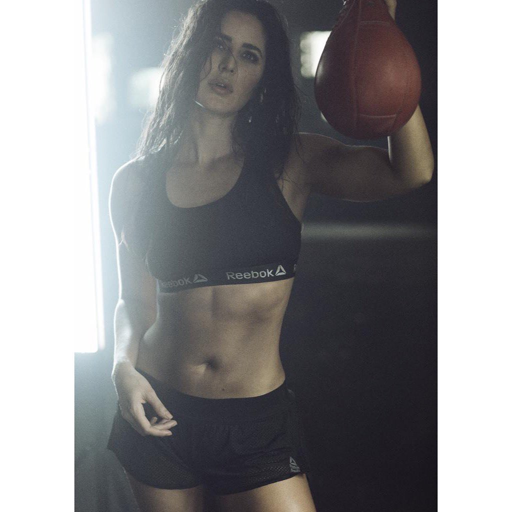 Katrina Kaif Reebok India hot pictures